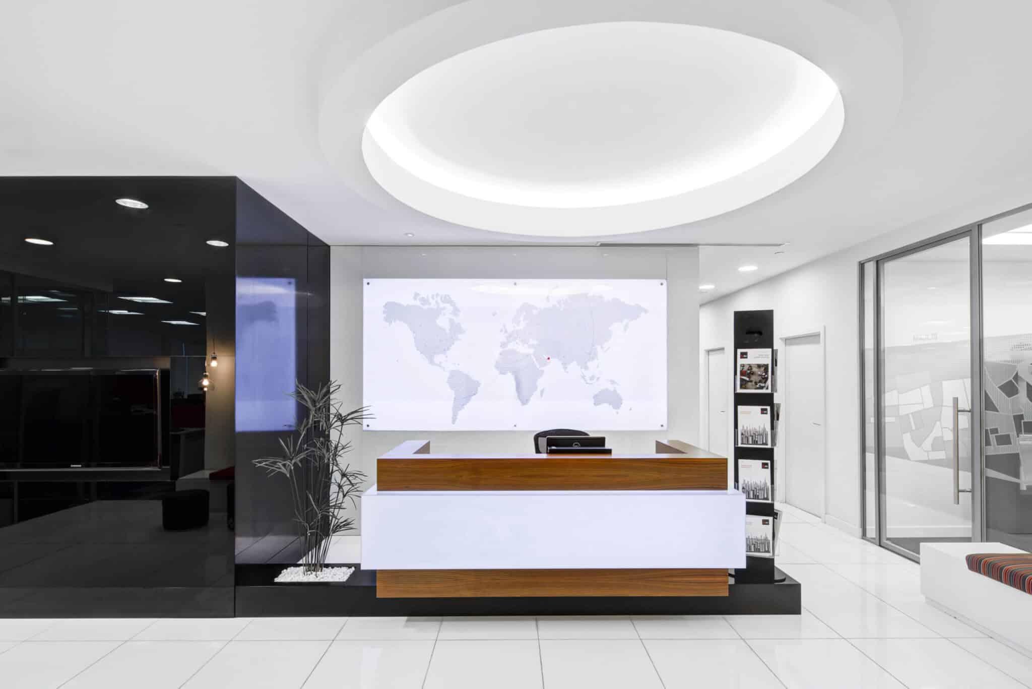 usable design reception desk