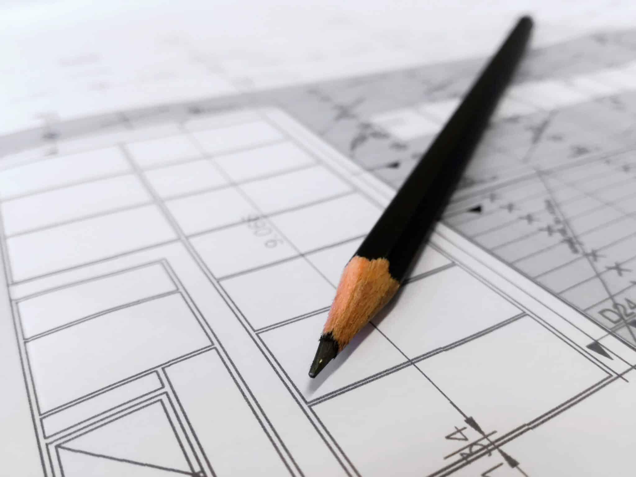 architect planning workplace design