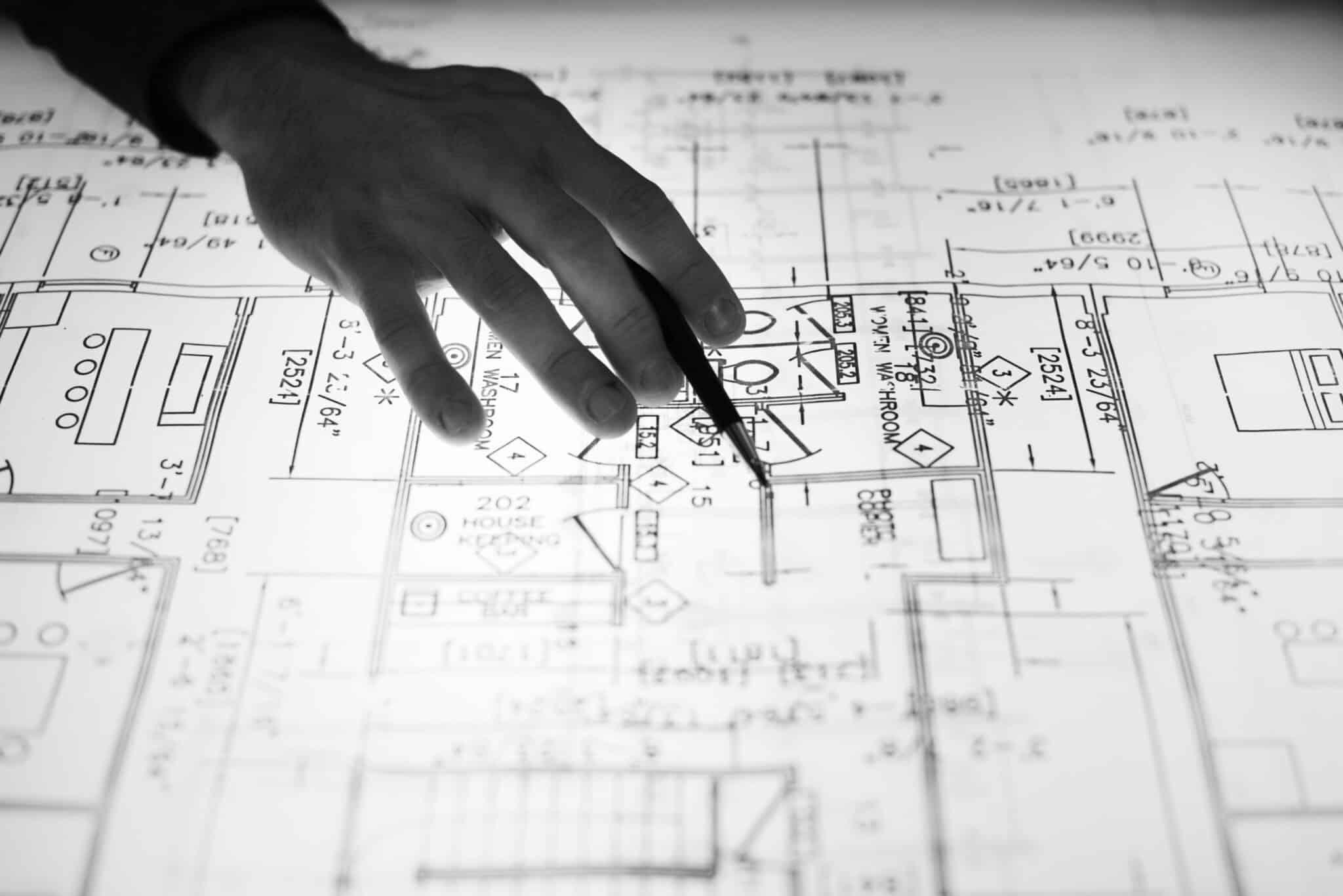 commercial real estate floor plan