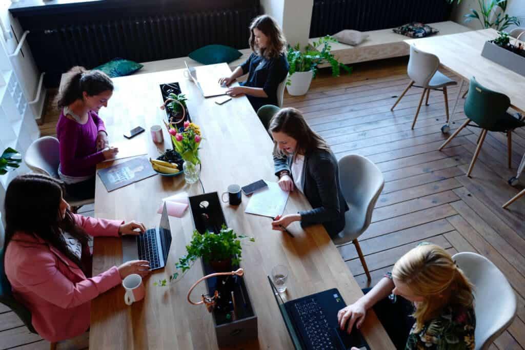 hybrid open office