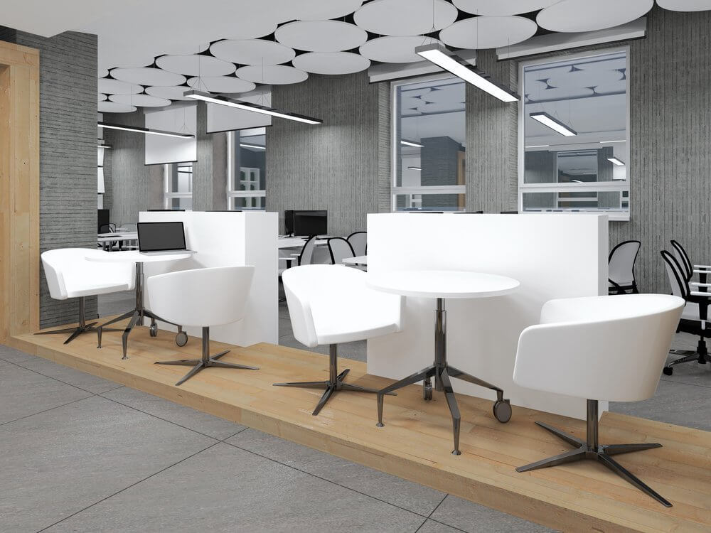 modern and luxurious office